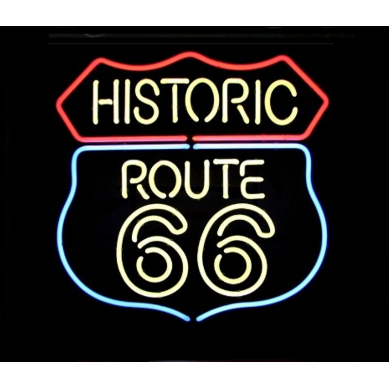 Route 66 Bar Neon Sign