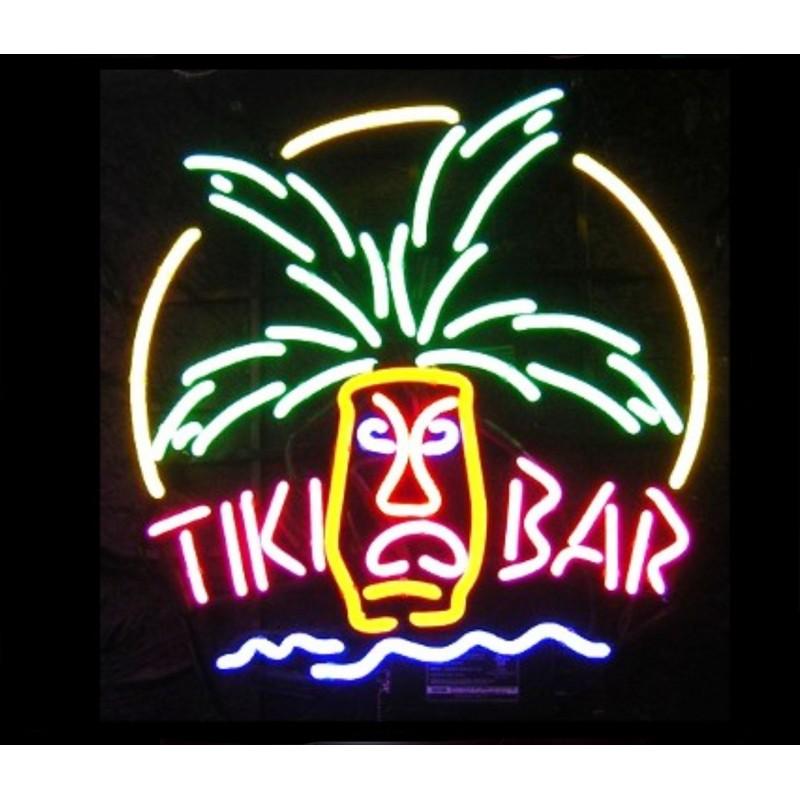 Tiki Bar Mask Neon Bar Sign - Neon Signs Depot