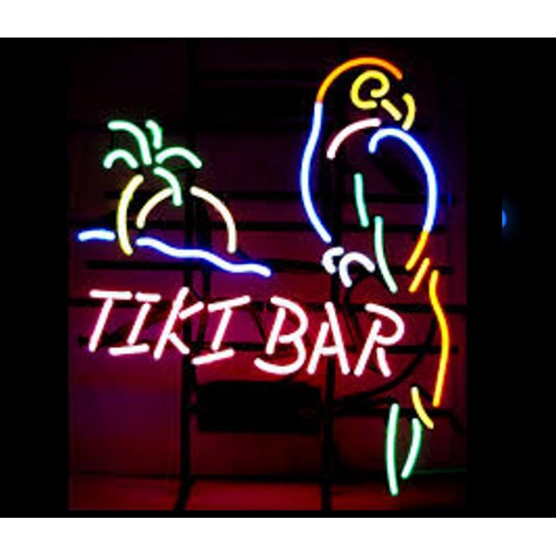 Tiki bar neon signs