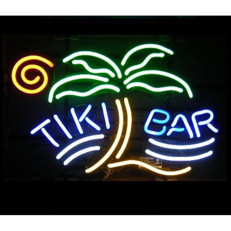 Tiki Bar Palm Neon Bar Sign - Neon Signs Depot