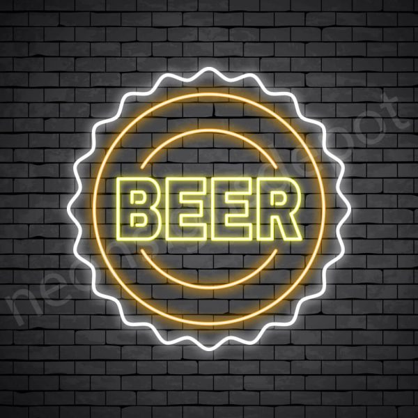 Been Neon Sign transparent Background