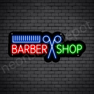 Barber Neon Sign Barber Cut Shop 24x9