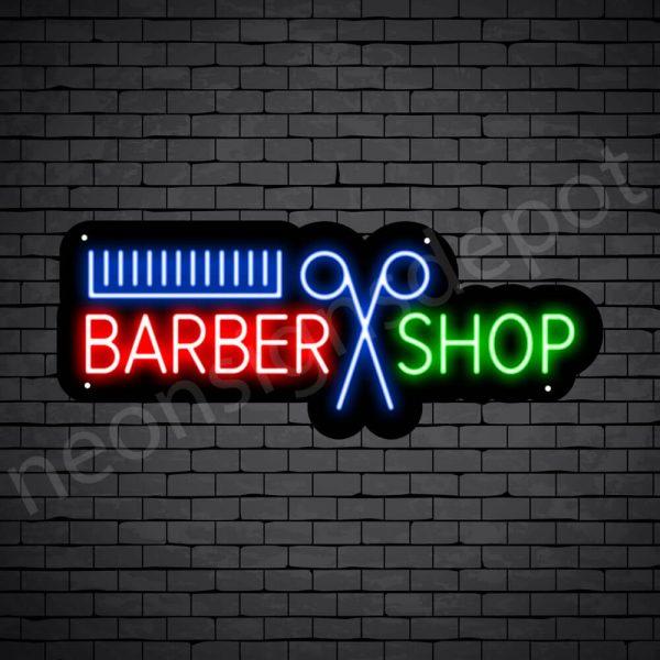 Barber Neon Sign Barber Cut Shop 24x9