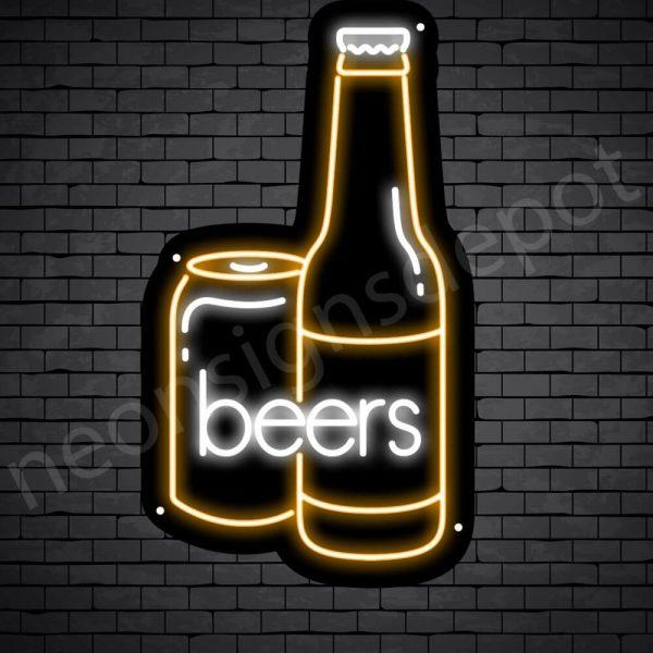 Beer Neon SigBeer Neon Sign Can Beer 14x24n Can Beer 17x30