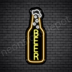 Beer Neon SigBeer Neon Sign single beer - 24x9n single beer - 24x9
