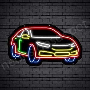 Car Neon Sign AUTOMOTIVE CAR Black - 24x14