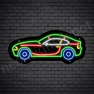 Car Neon Sign BMW Car 24x10