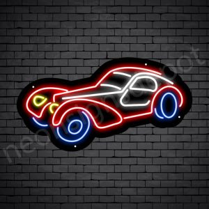 Car Neon Sign Classic Car 24x13