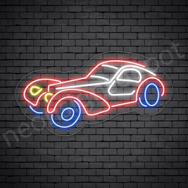 Car Neon Sign Classic Car 24x13