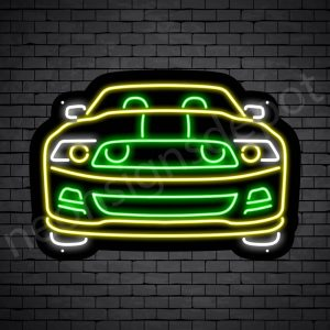 Car Neon Sign New Ford Pick Up Black - 30x21