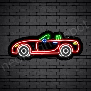 Car Neon Sign Jaguar Style 24x10