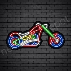 Motorcycle Neon Sign Chopper 30x15