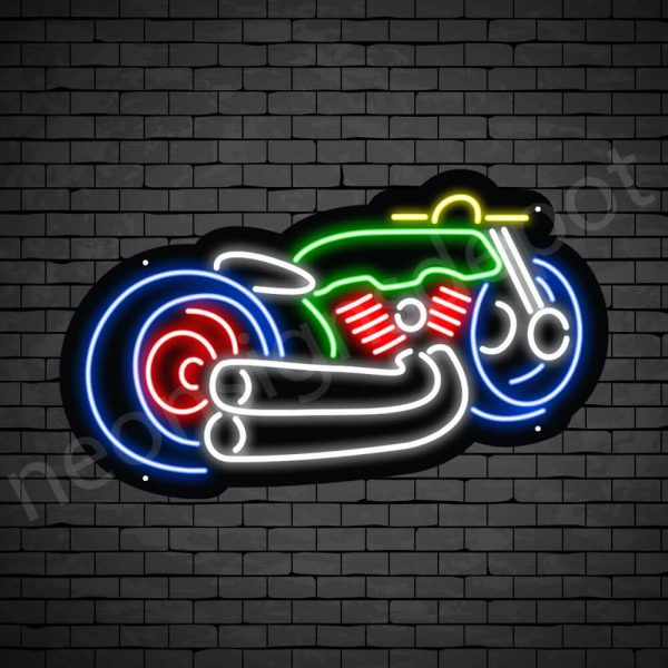 Motorcycle Neon Sign Harley Davidson 24x14