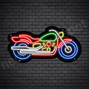 Motorcycle Neon Sign Motor Bike Style 24x12