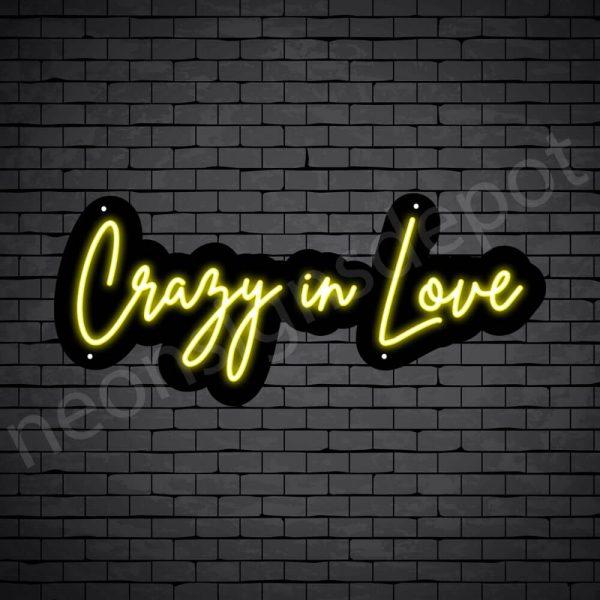 Phrases Neon Sign Crazy In Love