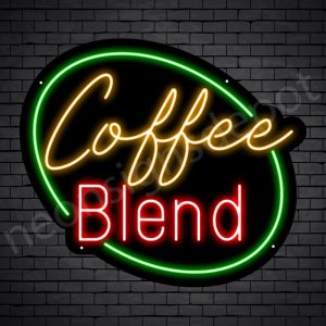 Coffee Neon Sign Coffee Blend
