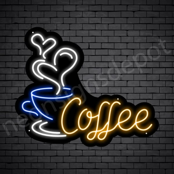 Coffee Neon Sign Sweet Coffee 24x20