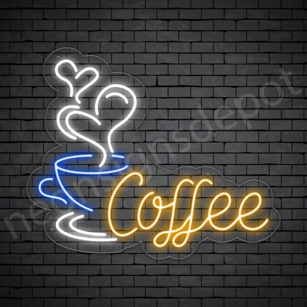 Coffee Neon Sign Sweet Coffee 30x25