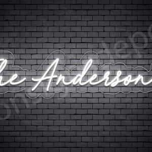 The Anderson's Custom Neon Sign