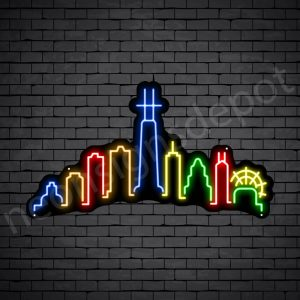 Chicago City Neon Sign