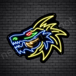 Lion Dragon Neon Sign