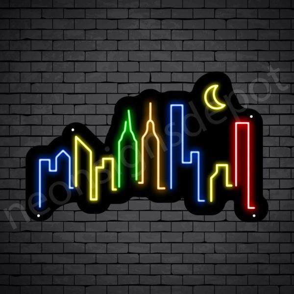 Generic City Neon Sign