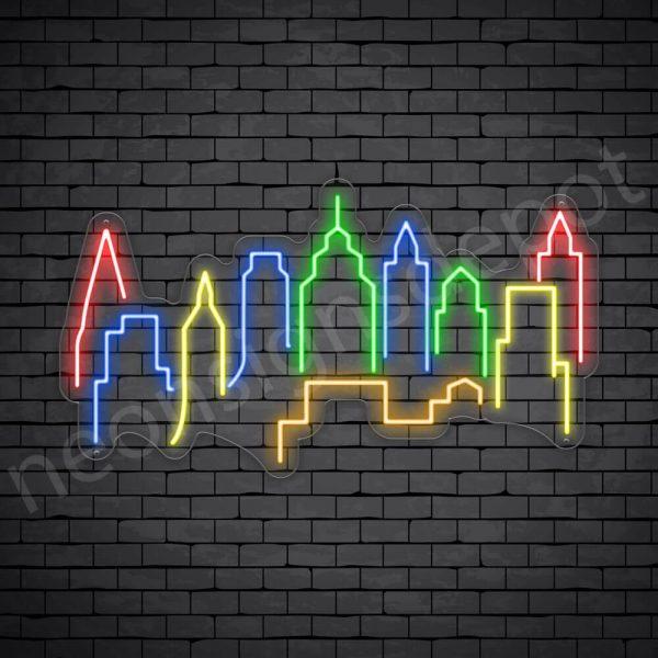 Kuala Lumpur City Neon Sign