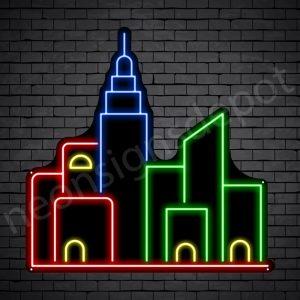Metropolis City Neon Sign
