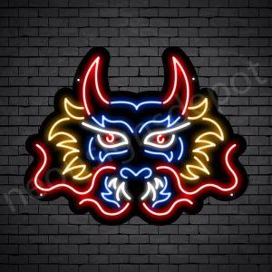 Dragon Neon Sign Pyre Dragon Black 24x19