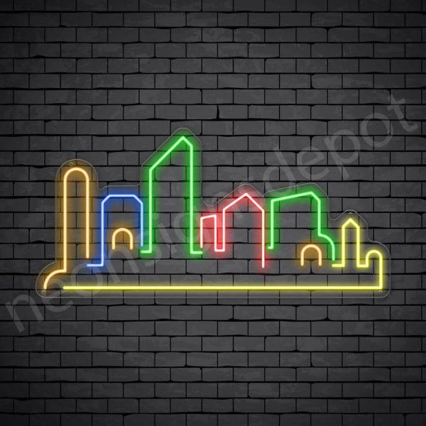 Romantic Place Neon Sign - Transparent