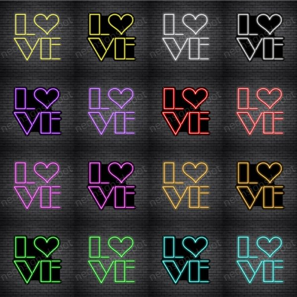 Love OL Neon Sign
