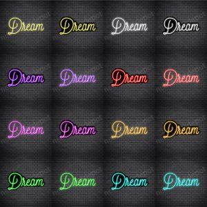 Dream V5 Neon Sign