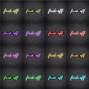 Fuck Off V1 Neon Sign