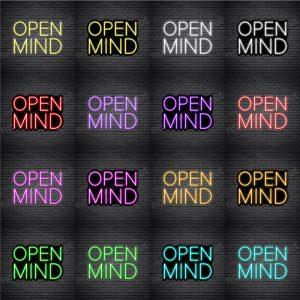 Open Mind Neon Sign
