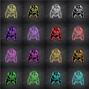 Bulldog V5 Neon Sign