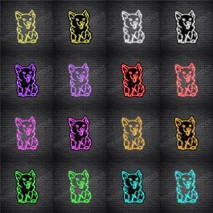 Corgis Dog V2 Neon Sign
