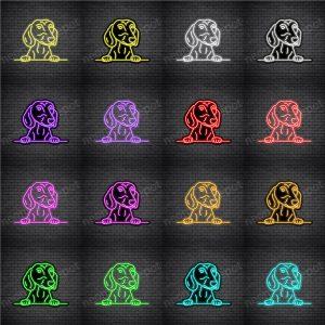Dachshund Dog V4 Neon Sign
