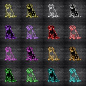 Labrador Retriever Dog V3 Neon Sign