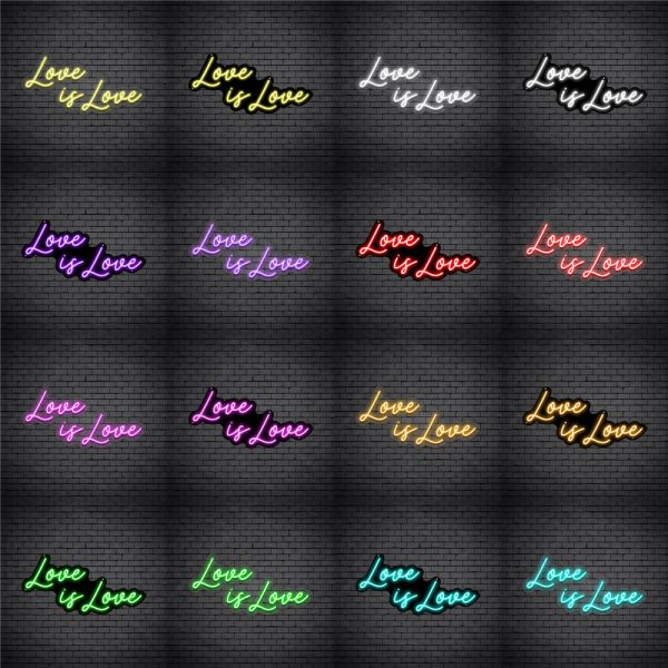 Love is Love V1 Neon Sign