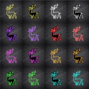 Deer V2 Neon Sign