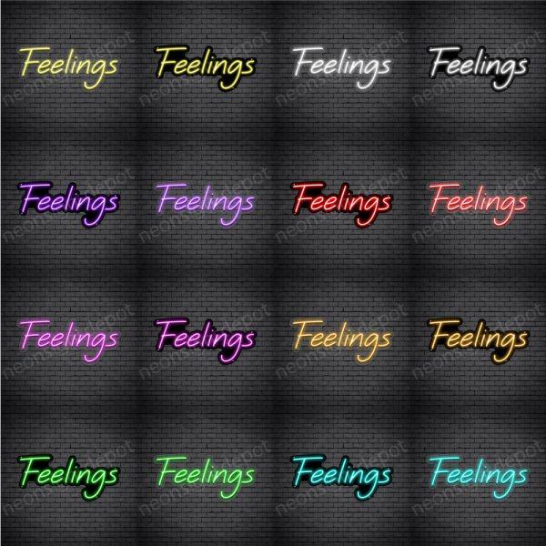 Feelings V5 Neon Sign