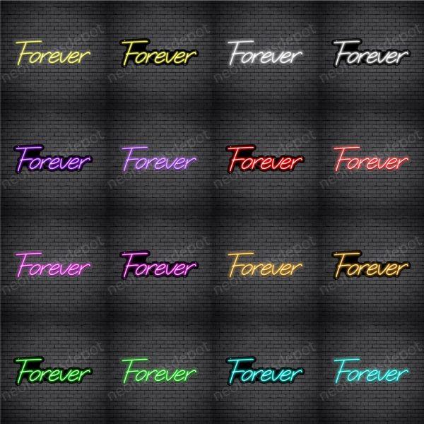 Forever V3 Neon Sign