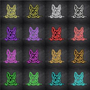 German Shepherd Dog V5 Neon Sign
