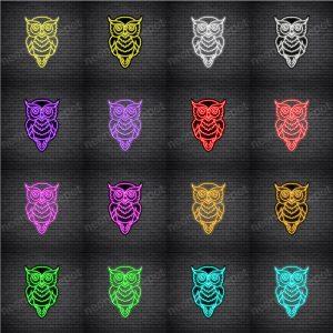 Owl V3 Neon Sign