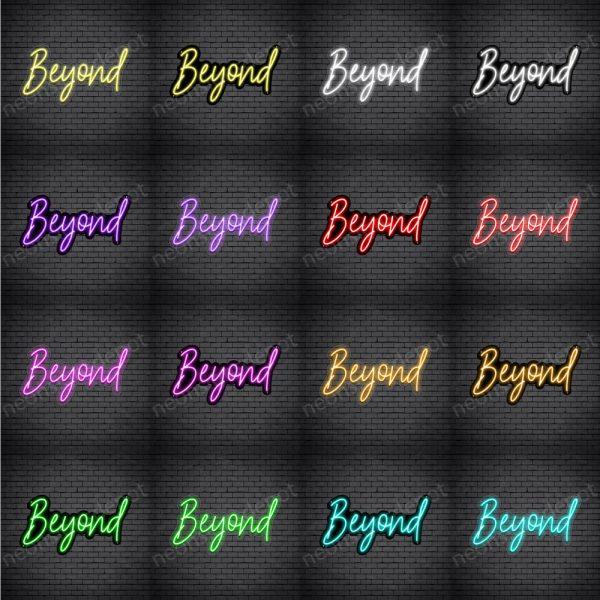 Beyond V1 Neon Sign