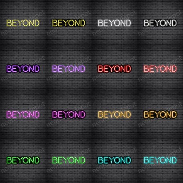 Beyond V4 Neon Sign