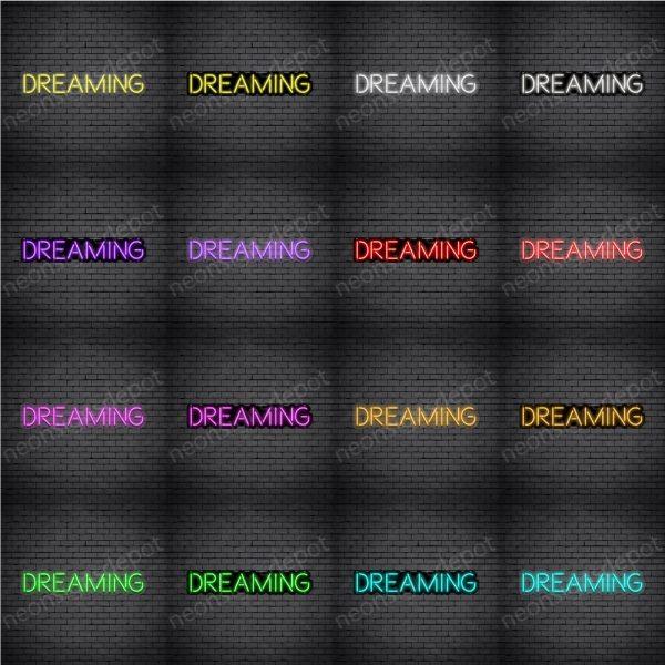 Dreaming V2 Neon Sign