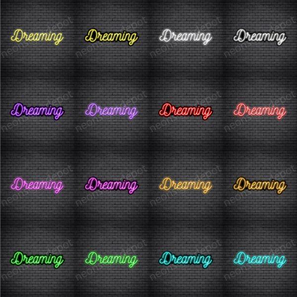 Dreaming V4 Neon Sign