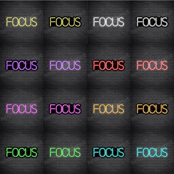 Focus V1 Neon Sign