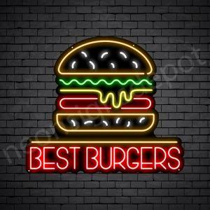 Best Burgers Neon Sign